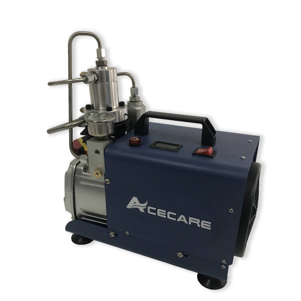 New Acecare 30Mpa 220v Mini Air Compressor Easily For Filling High Pressure Cylinders With Compressed Air On Sale