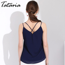 Chiffon Blouse Summer Women Casual Chemise Femme Tops Women Blouses Sexy Backless Top Blusa Sleeveless Womens Tops And Blouses