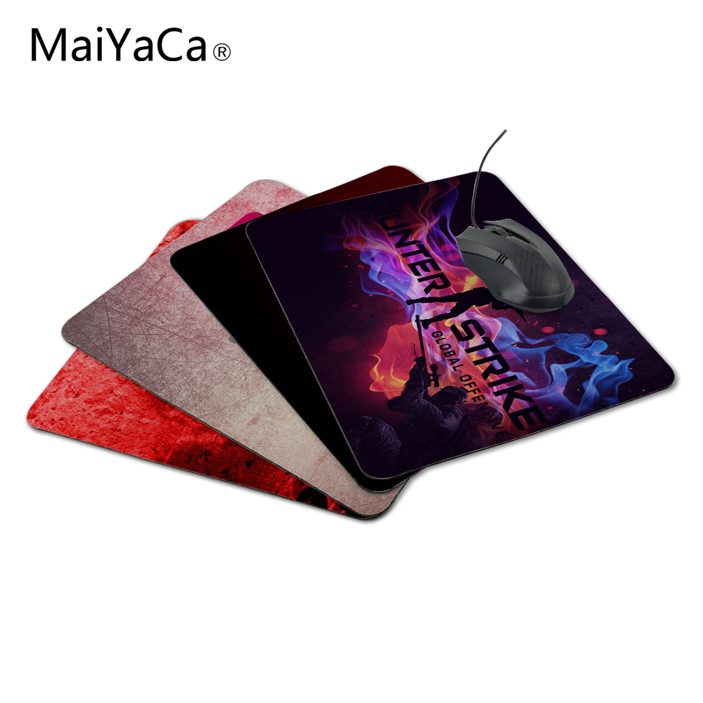 MaiyaCa Smooth Mouse Pad CS Go Design personalizat unic Durable Joc - Perifericele computerului