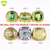 NFL 2012 Green Bay Packers Super Bowl Championship Ring National Football League Size 11 With Box