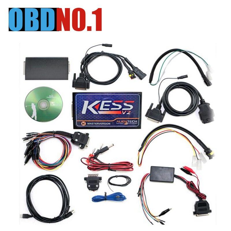 imágenes para Nuevo Firmware V4.036 V2.32 Maestro versión KESS V2 KESS V2 No Tokens Limited KESS V2.32 integración Completa con ECM DHL envío
