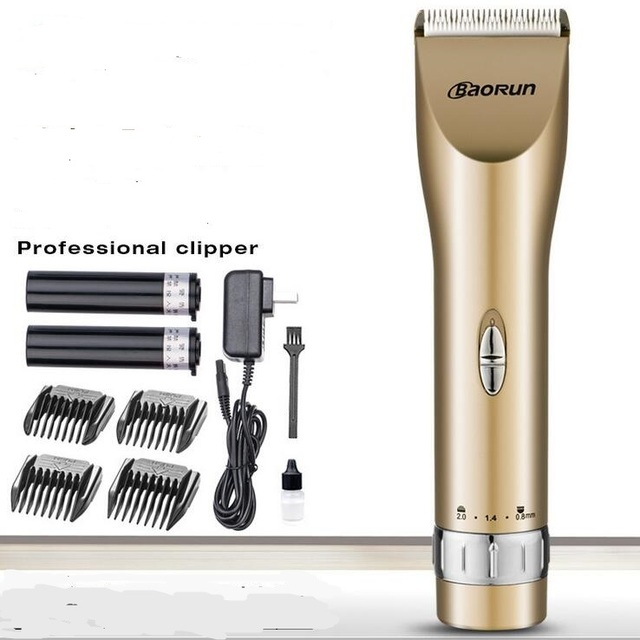 newest adult hair clipper trimmer low noise baby barber 2000MA Lion battery man precison body grooming trimmer beard trimming