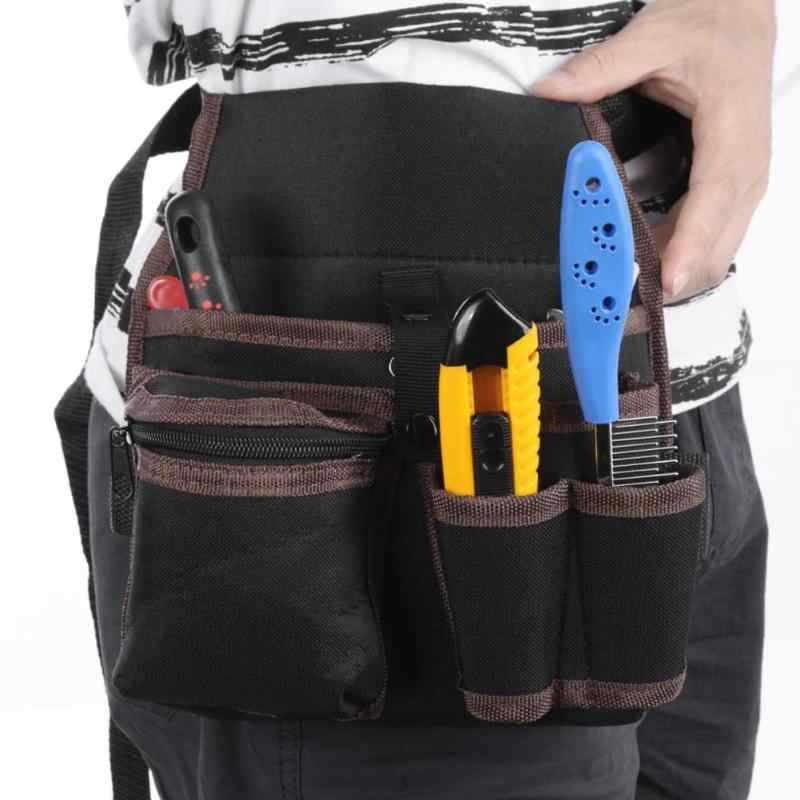 9f149743bf63 Инструмент сумка Пояс сумка талии карман Открытый инструменты ручной работы  хранения оборудования электрик инструмент