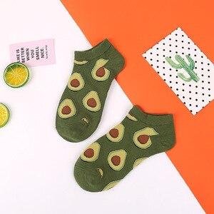 الأفوكادو الجوارب عجة برغر السوشي أبل مصنع سلطة فواكه قصيرة مضحك جوارب قطنية المرأة الصيف الرجال للجنسين سعيد الجوارب الإناث