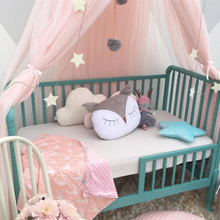 Baby Bed Foldable Mosquito Net Kids Bedding Dome Crown Hanging Canopy Curtain Princess Play Tent Girl Cribs Baby Room Decoration