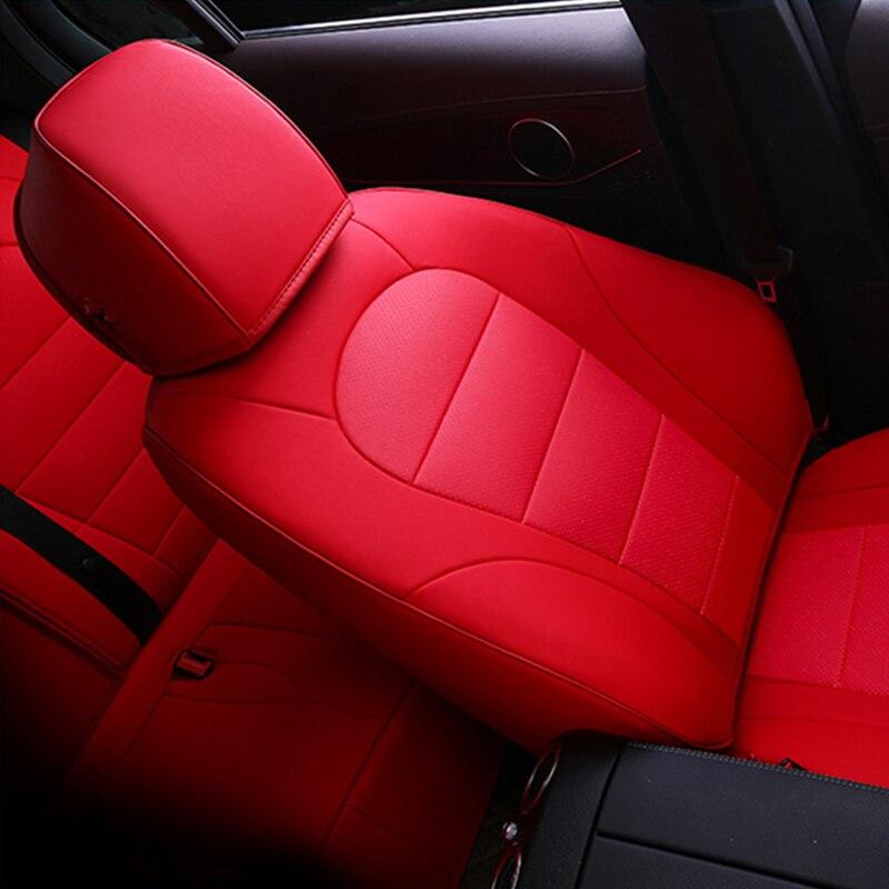 Housse de siège de voiture pour audi a3 8 p 8l sportback A4 A6 A5 Q3 Q5 Q7 housses accessoires pour siège de véhicule - 6