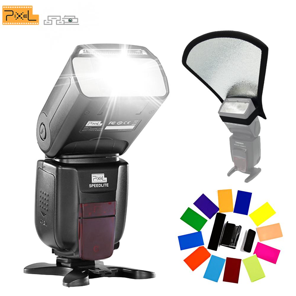 Prix pour Pour Nikon Caméra Sans Fil TTL 1/8000 S HSS Flash Speedlite Pixel X800N Standard vs YONGNUO YN-568EX YN-565EX TR-586EX MK-910