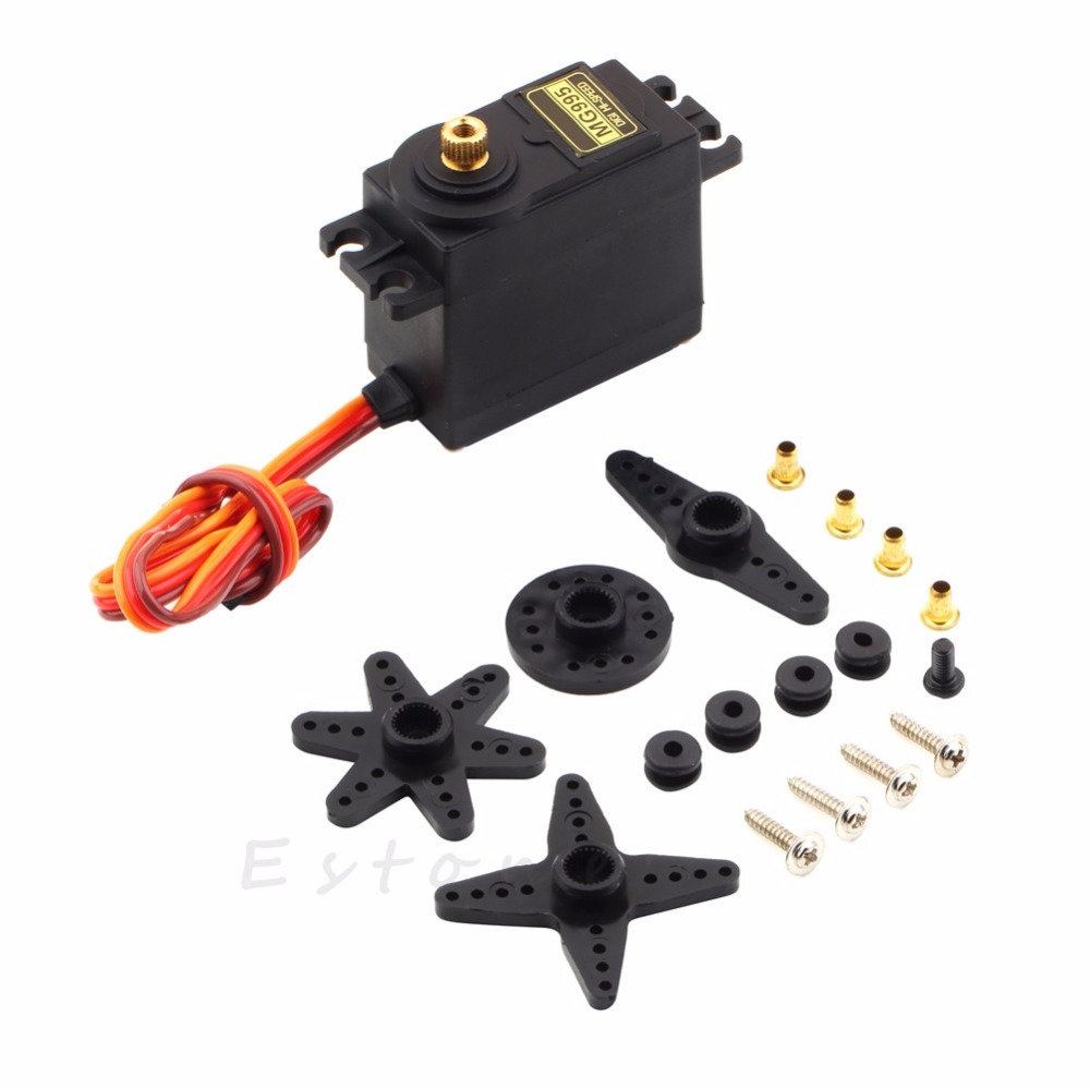 1pc Servo MG995 Gear High Metal Speed Torque For RC Car Airplane Hot 35kg high torque coreless motor servo rds3135 180 deg metal gear digital servo arduino servo for robotic diy rc car