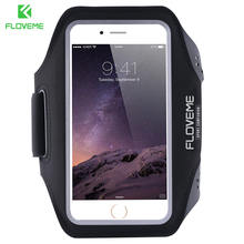 FLOVEME Waterproof Sport Arm Band Case For Samsung Galaxy S5 S6 Edge Plus S7 Edge S4 S3 Note 5 4 3 A5 A7 A8 J5 Clear Touch Cover
