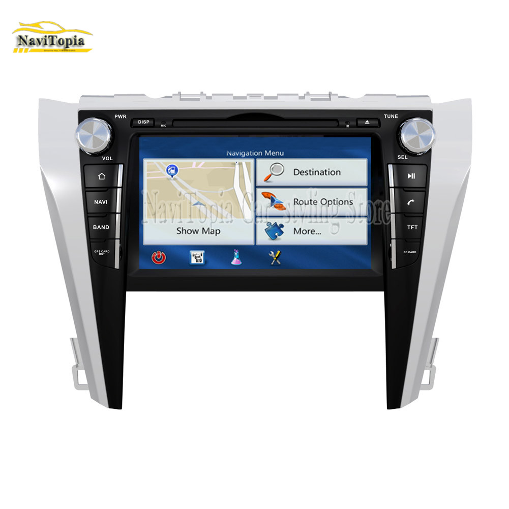 Navitopia Gps Navigation Car Dvd Multimedia Player For Toyota Camry 2017 2016 2018 Pc Tablet Stereo Radio In From