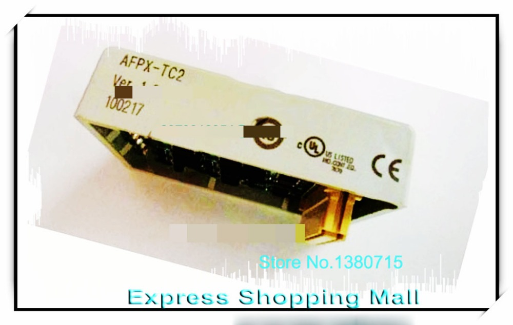 New Original AFPX-TC2 Analog and Thermocouple Cassettes analog thermocouple cassettes communication module afpx ad2 new