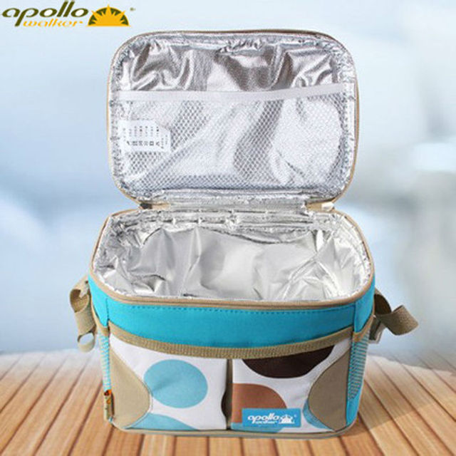 Apollo insulated thermal bag Cooler Bag Portable Cooler  lunch box lunch bag ice pack Bolsa Termica 600D Aluminum Foil ice bag