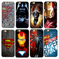 Deadpool/homem de ferro/kingkong marvel avengers star wars plástico rígido case capa do telefone para apple iphone 4s/55 s/se/5c/7/66s7plus