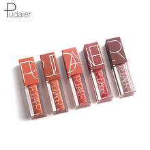 Pudaier 5 Color Lip Gloss Lipstick for Lips Matte Lipstick Lipgloss Matte Liquid Lipsticks Red Velvet Makeup Tint Lip Cosmetics pudaier 5 color lip gloss waterproof long lasting hot sexy lip tint 5 color matte liquid lipstick lip liner pen makeup cosmetics
