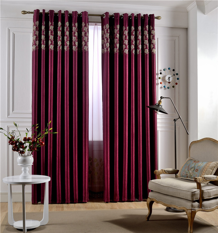 European Curtains Style