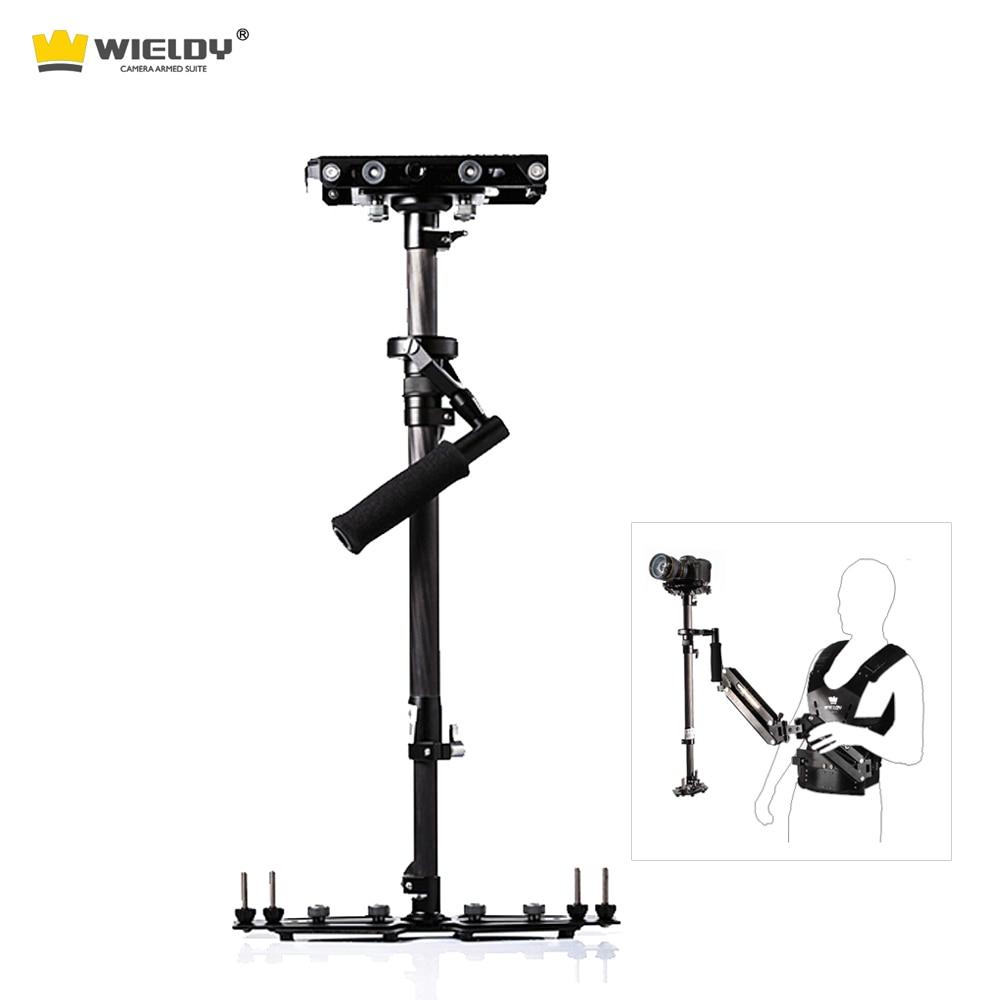 Wieldy HD 2000 carbon fiber handheld camera stabilizer 1-5kg video steadycam DSLR steadicam S60 camcorder Glidecam Tiffen Rig