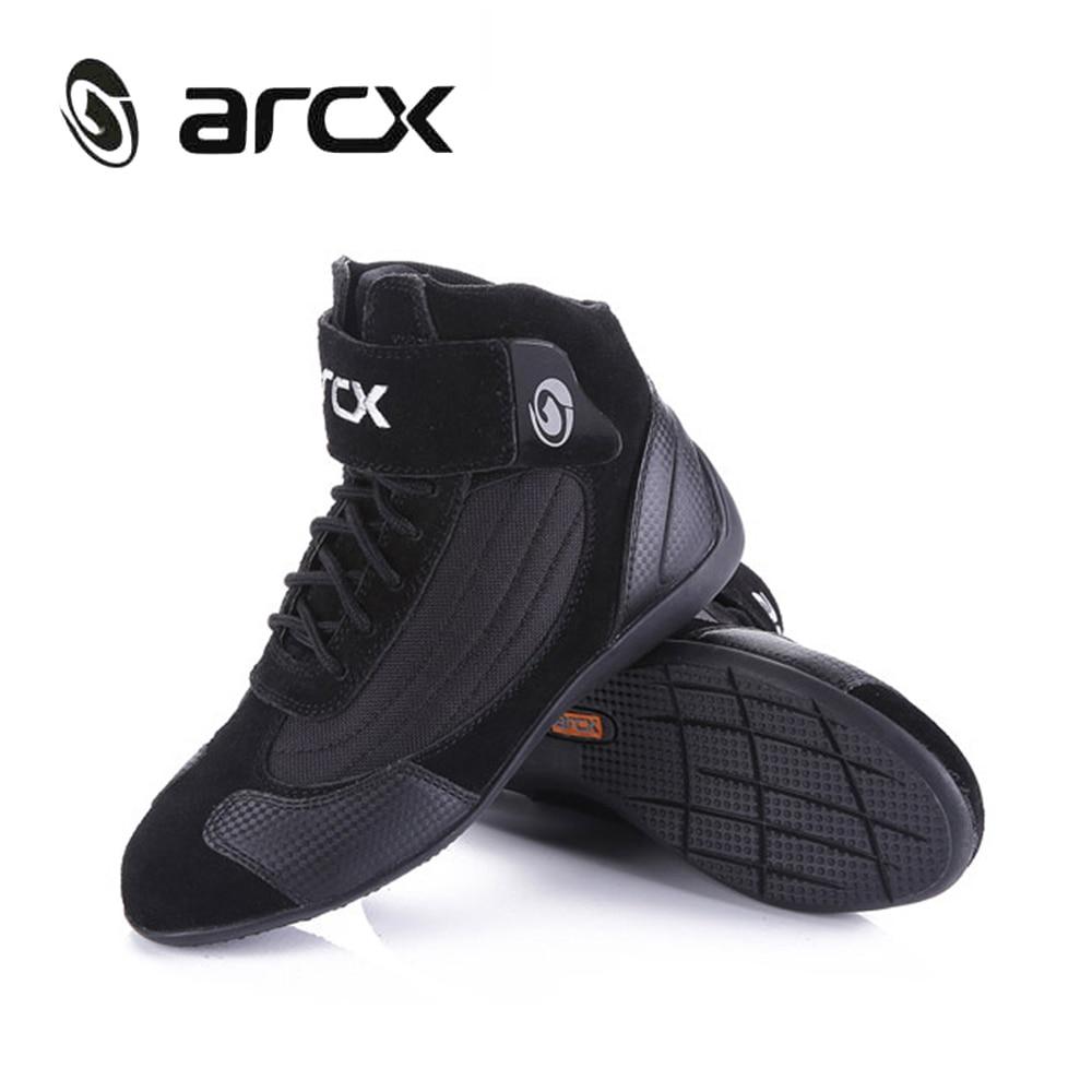 Botas de Moto ARCX para hombre, botas de Moto, zapatos de Moto transpirables de verano - 2