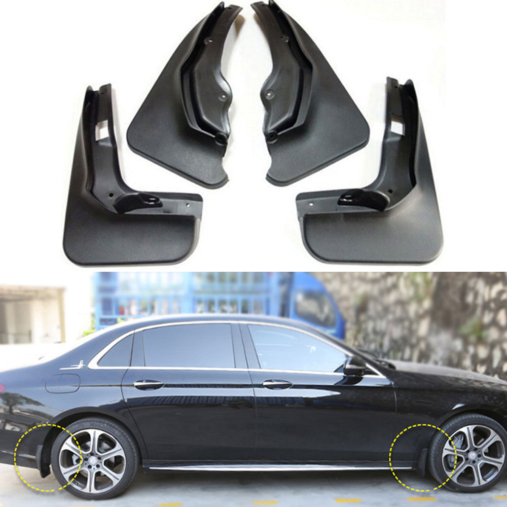 Car Splash Guards Mud Flaps Fender Mudguard Protector For Mercedes Benz C Class W204 C300 C250 C200 C180 2011 2012 2013 2014 hot sale lp standard electric guitar les tiger maple cover mahogany body real paul guitar high quality free shipping