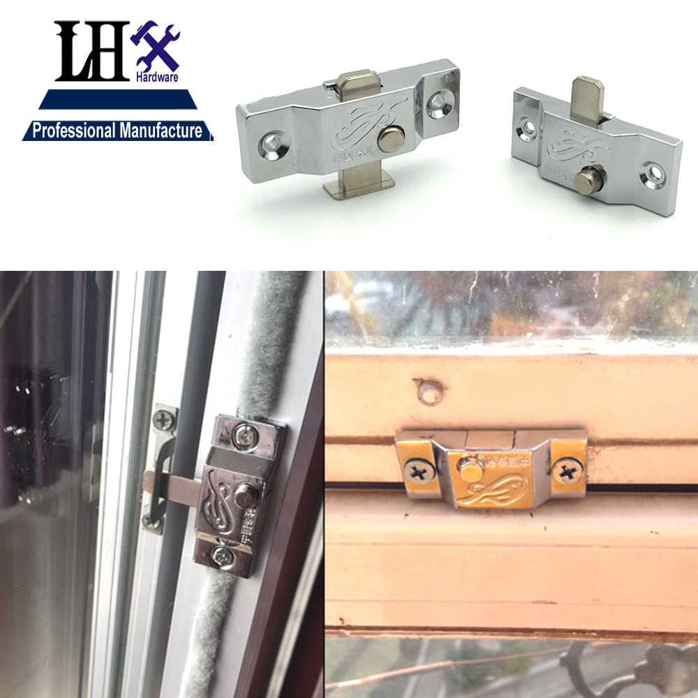 LHX Christmas Supplies Spring Latch Lock Bolt for Window Bathroom Accessorries Sliding Door 4 Size Furniture Hardware стоимость