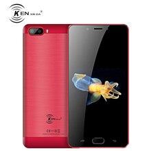 5.5 Inch Mobile Phone 2GB RAM 16GB ROM Android 7.0 MTK6737 Quad Core 13.0MP 5000mAh Fingerprint Ken Xin Da S9 Lte 4G Smartphone