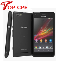 Original Sony Xperia M C1905 Unlocked Mobile Phone Dual Core 3G Android 5MP Camera Internal 4GB Memory