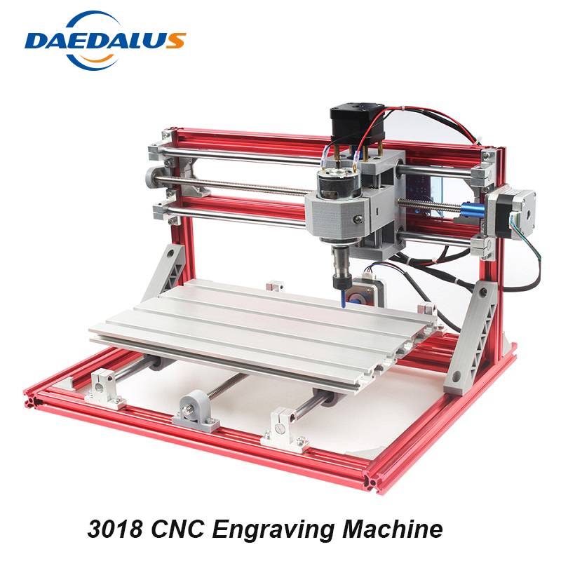 CNC 3018 Engraving Machine ER11 DIY Mini Engraving Machine 3 Axis PCB PVC Engraver Wood Router Carving Tools