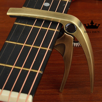 Freight free tone precision Ukelele tone change clip metal drawing wire acoustic guitar electric guitar capo upgrade bronze capo