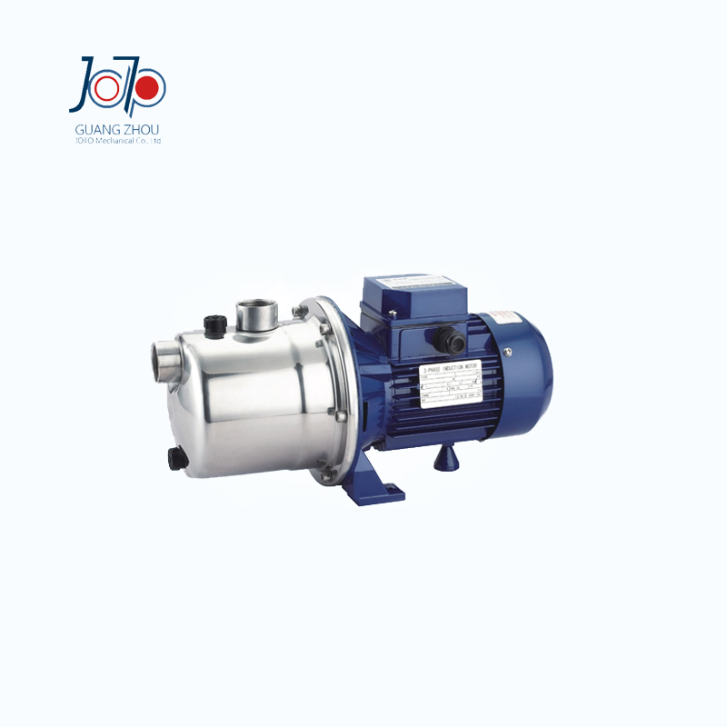 SZ037D Small Jet Stainless Steel Self-priming Centrifugal Pump Household Water Supply Floor Pressurisation Irrigation Pump sz060 good quality home use small stainless steel water pump jet self priming centrifugal pump circulating pump factory supply