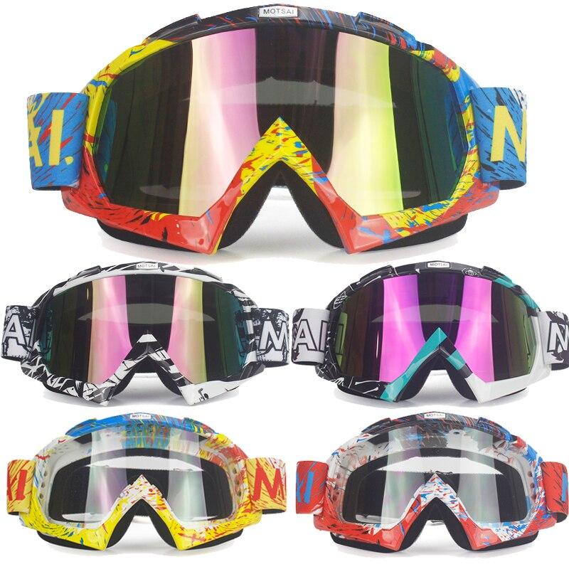Jojimo trileris 601-E Motokroso akiniai Cross Country Slidinėjimas Snowboard ATV kaukė Oculos