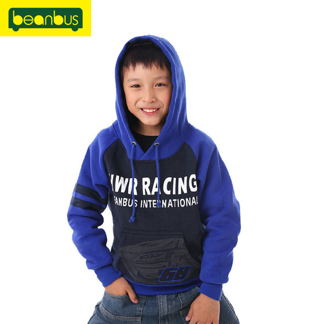Beans bus big boys clothing child fleece hoodie pullover