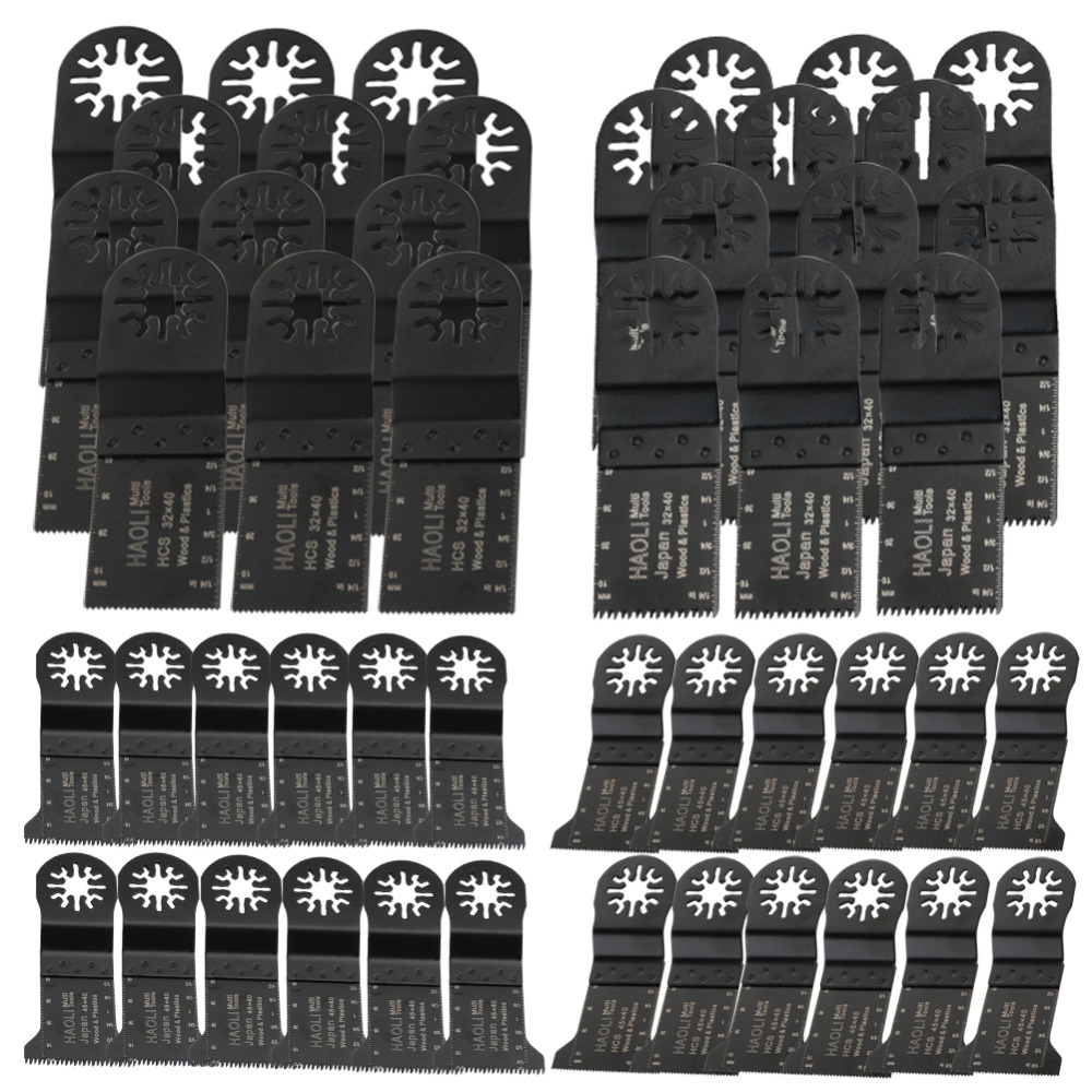 цена на 50 pcs oscillating tool saw blades for multimaster power tool for home decoration,for Fein renovator tool,Dremel,TCH,top quality