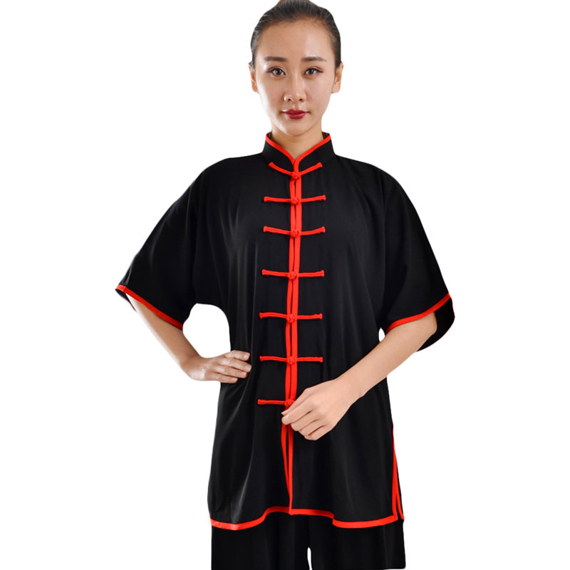 G-LIKE Hohe Qualität Unisex Baumwollmischung Tai Chi Uniform Martial Arts Anzug Kung Fu Wushu Jacke Hosen