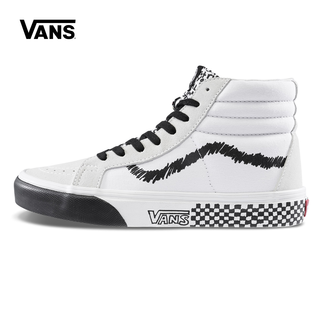 Original New Arrival Vans Men's & Women's Classic SK8-HI Reissue Skateboarding Shoes Sneakers Canvas Comfortable VN0A2XSBU7B кеды vans sk8 hi mte