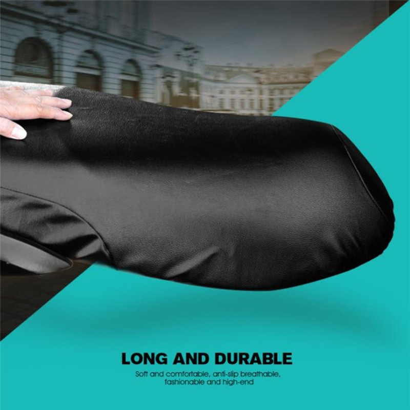 Motorcycle Leather Seat Cushions Leather Cover Seat Motorcycle Accessories in Seat Covers from Automobiles Motorcycles