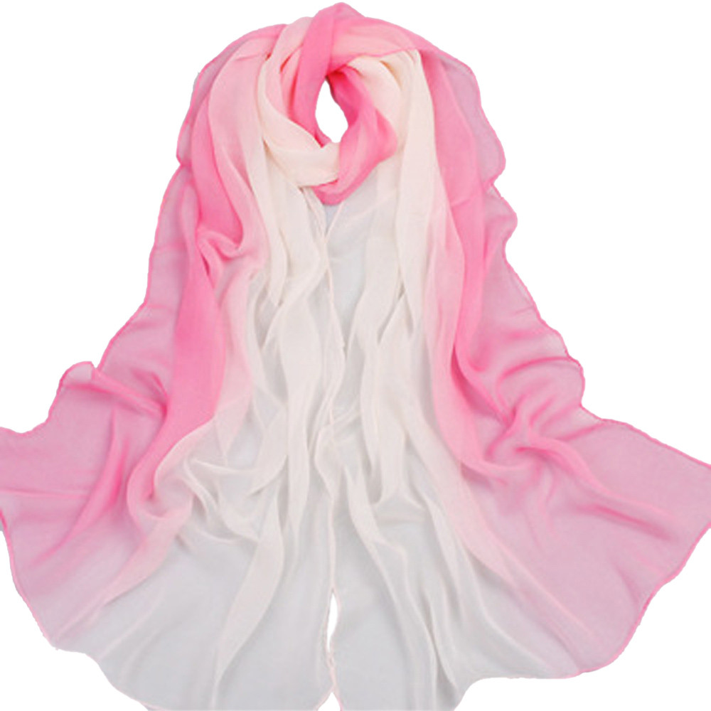 Apparel Accessories Autumn Winter Women Scarf Tower Printed Long Scarf Shawl Casual Soft Warm Pink Voile Party Dating 80*170cm High Quality Goods
