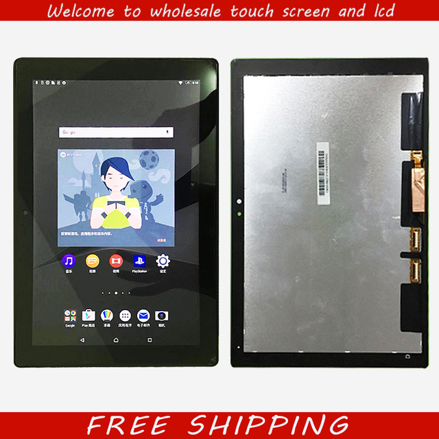 US $265 0 |New For SONY Xperia Tablet Z4 SGP712 SGP771 touch screen +LCD  digitizer assembly free shipping-in Tablet LCDs & Panels from Computer &