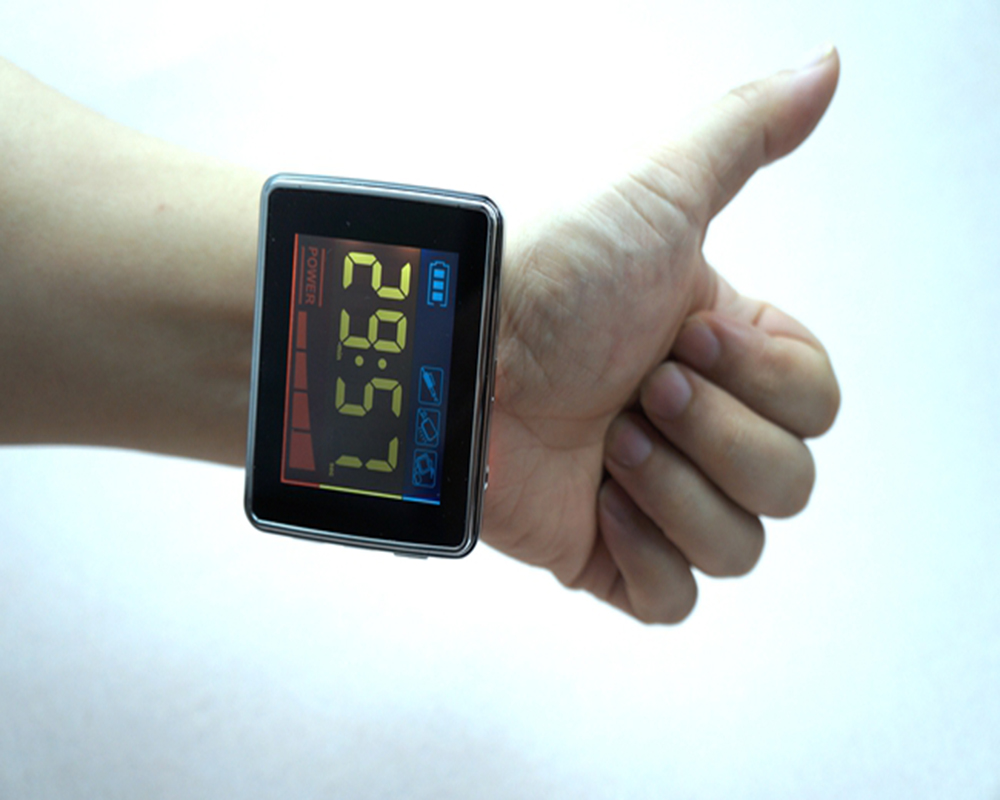 Laser therapy watch reduce high blood pressure cardiovascular adjuvant treatment device laser therapy high blood pressure light therapy device wrist blood pressure small watch semiconductor laser therapy