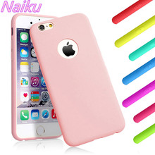 Fashion candy silicone thin soft TPU case for iphone 7 7Plus 8 8Plus X phone case for iPhone 6 6s 6Plus 6sPlus phone case