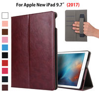 Luxury PU Leather Case For Apple New IPad 9 7 2017 Case Smart Cover Funda Tablet