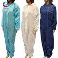 NUEVA 3 Colores 4 Tamaños Traje De Papel Desechable De Protección General Overoles Silverline M/L/XL/XXL Envío Libre gratis