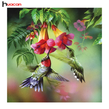 HUACAN Bird Diamond Embroidery Animal Picture of Diamonds 100% Full Square Set for Embroidery Stitch for Baby Room Decor F1510