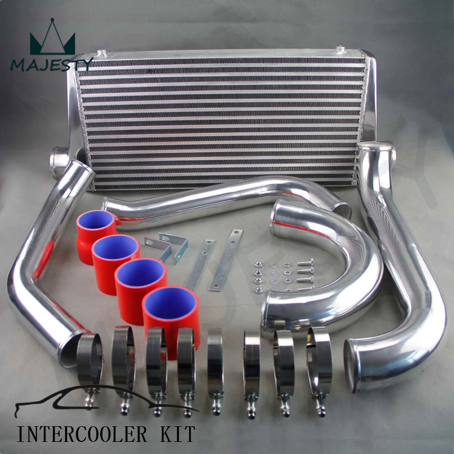 US $159 5 5% OFF|Intercooler Kit for Toyota SUPRA MK4 MK JZA80 TURBO 2JZ  GTE Intercooler Kit SILICONE HOSE COLOR RED SIZE 81*38*18 5 on  Aliexpress com