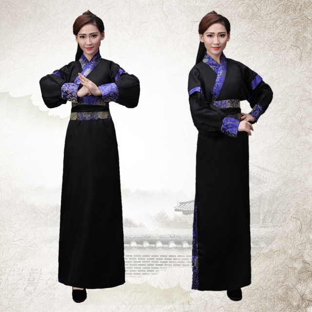 Древняя Китайская Hanfu Сценический Костюм Династии Тан Мужчины Hanfu Костюм Халат Китайский Традиционное Платье Мужчины