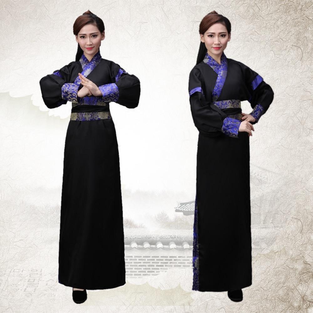30ca1dbb9e7d Древняя китайская Hanfu сценический костюм династии Тан Для мужчин hanfu  костюм халат китайское традиционное платье Для мужчин