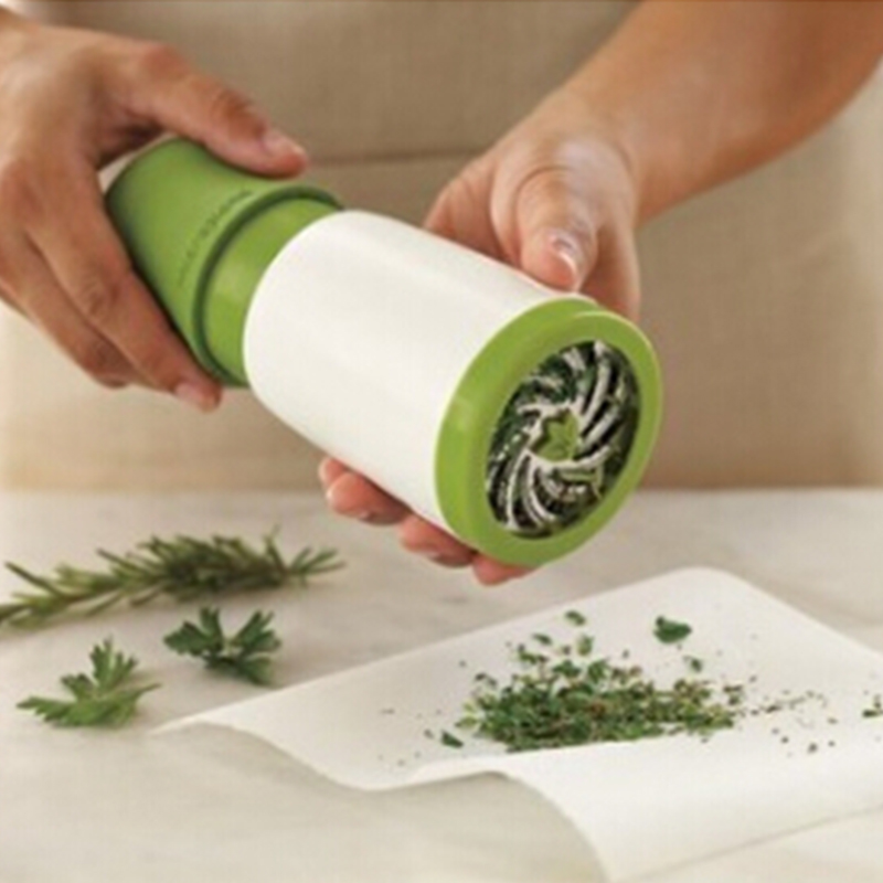 New Spice Mill Parsley Shredder Herb Grinder Chopper Vegetable Cutter Cooking Tools