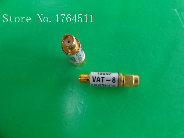 [BELLA] MINI VAT-8 DC-6GHz 8dB 1W SMA Coaxial Fixed Attenuator  --5PCS/LOT
