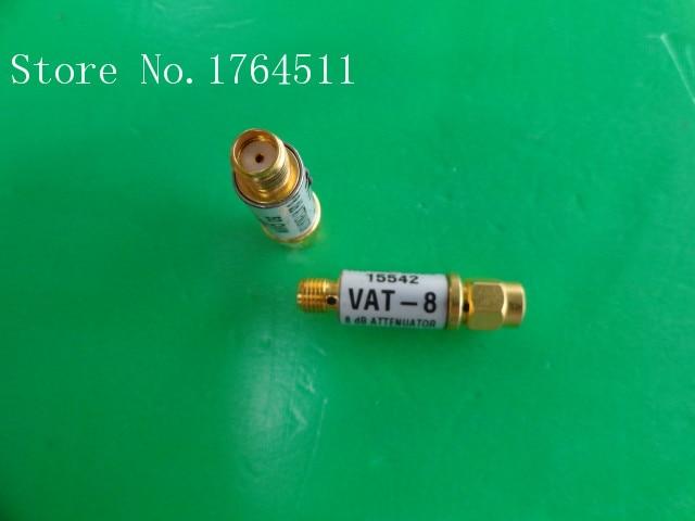 [BELLA] MINI VAT-8 DC-6GHz 8dB 1W SMA Coaxial Fixed Attenuator  --5PCS/LOT
