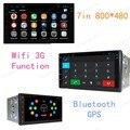 7-дюймовый 800*480 Android 4.4 Quad Core 2 Din Dvd-плеер Автомобиля Автомобильный Радиоприемник 2 Din Стерео GPS Navi wi-fi радио DAB +