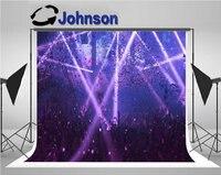 dj stage led light club concert photo backdrop Vinyl cloth High quality Computer print party photography studio background