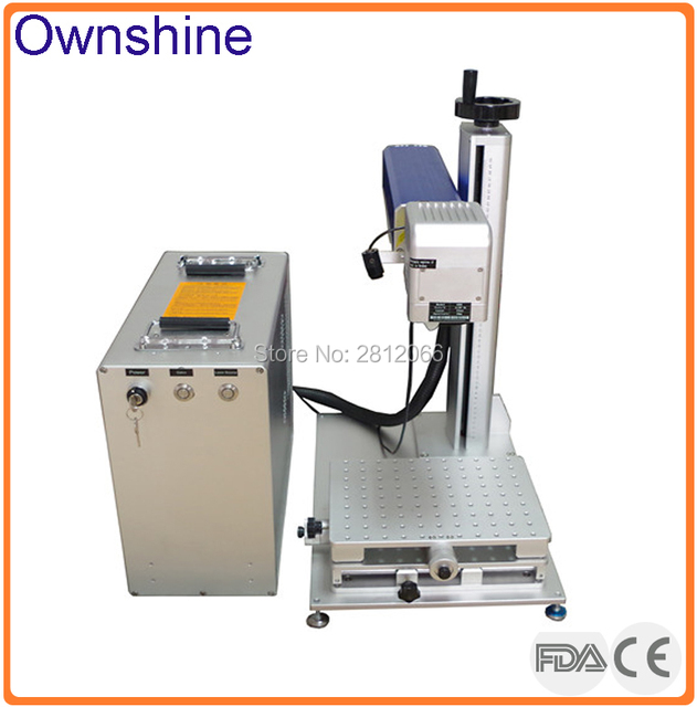 US $14220 0 |TNT to door deep marking JPT MOPA 60W color laser engraving  machine for steel stainless steel aluminum gold and silver-in Wood Routers